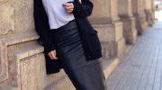 Какую одежду подобрать для женщины с широкими плечами