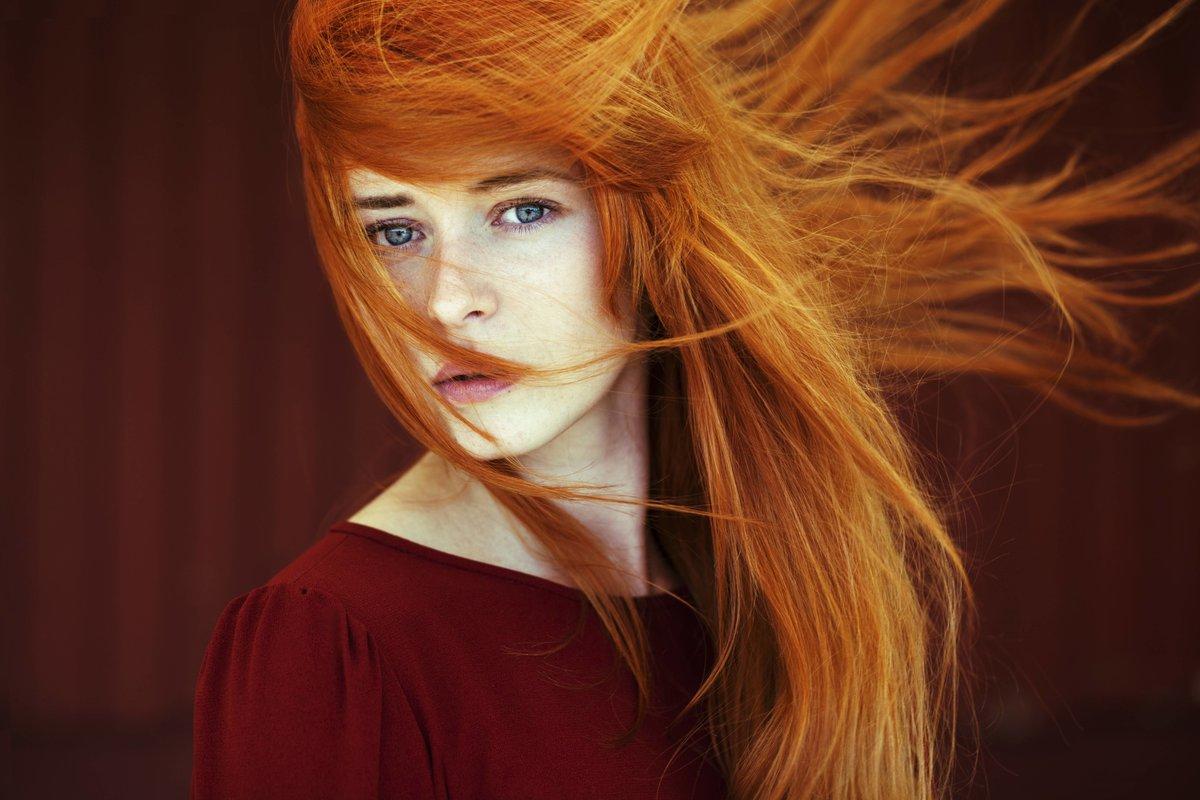Как подобрать свой оттенок рыжего цвета для волос