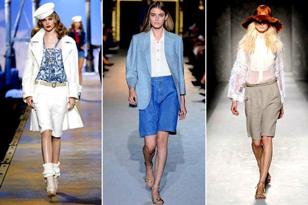 7 примеров, с чем носить бермуды этим летом