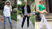 Советы стилиста. Как, какие и с чем носить джинсы женщине после 50 лет