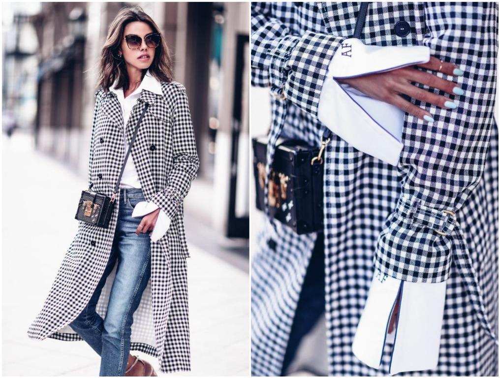 Как и с чем носить одежду в горошек осенью. 11 стильных примеров
