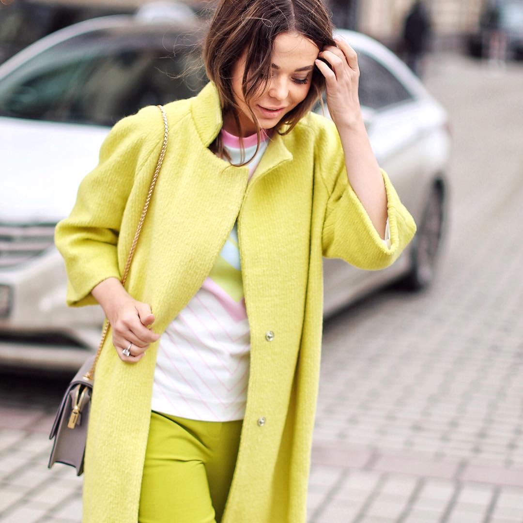 Актуальные цвета в одежде для нынешней осени