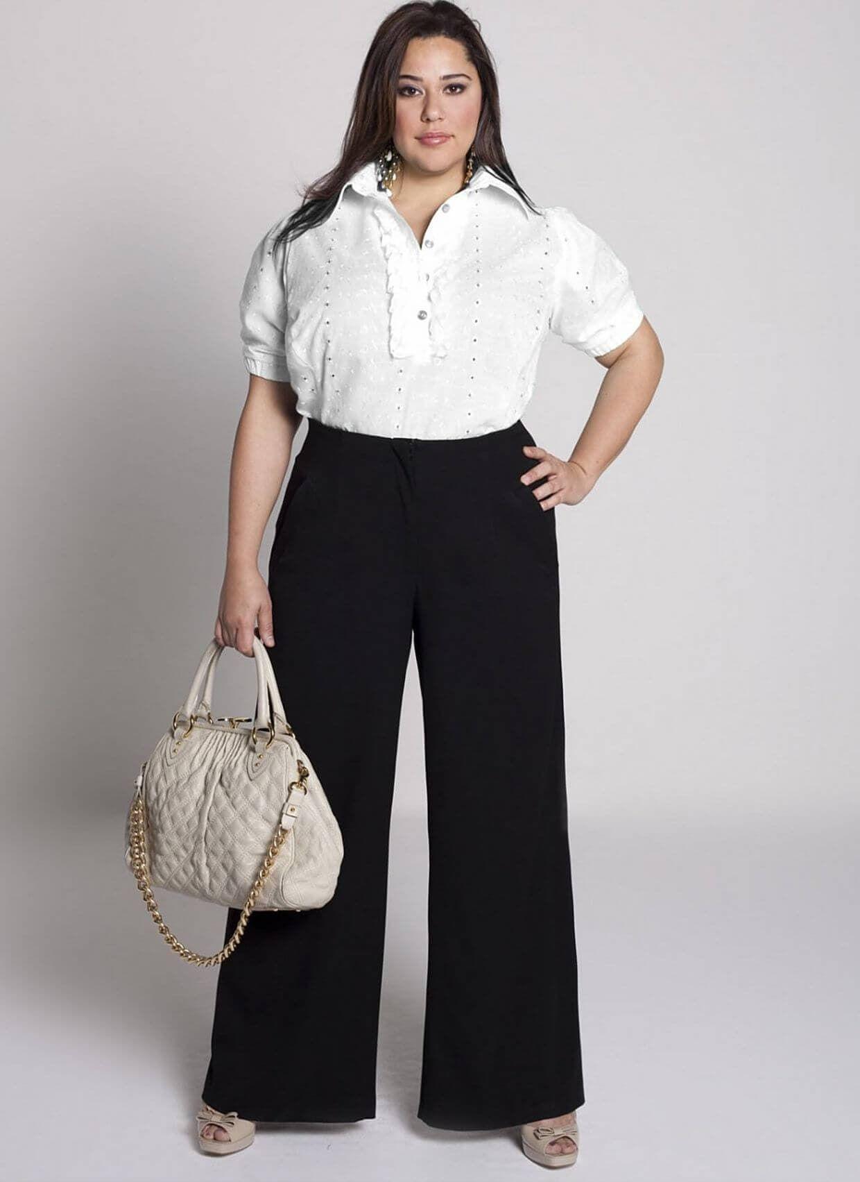 4 идеальные модели брюк для женщин с пышными бёдрами