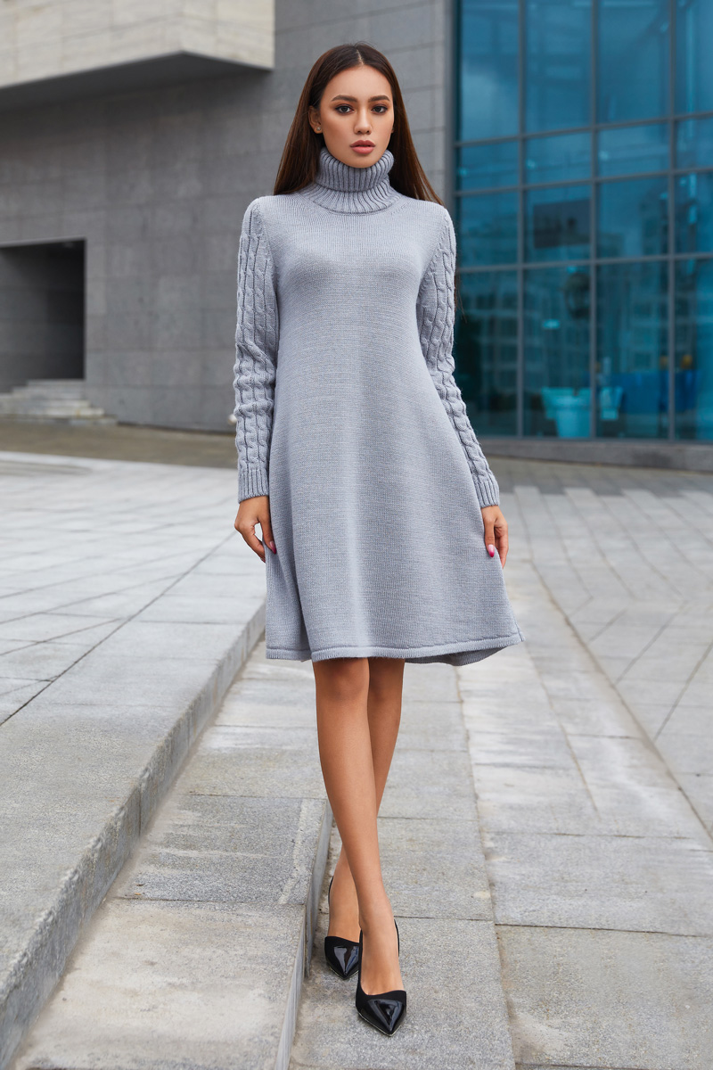 5 беспроигрышных вариантов трикотажного платья, которые подойдут для любой фигуры
