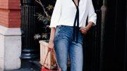 Какие носить джинсы и с чем их сочетать после 40, чтобы выглядеть стильно