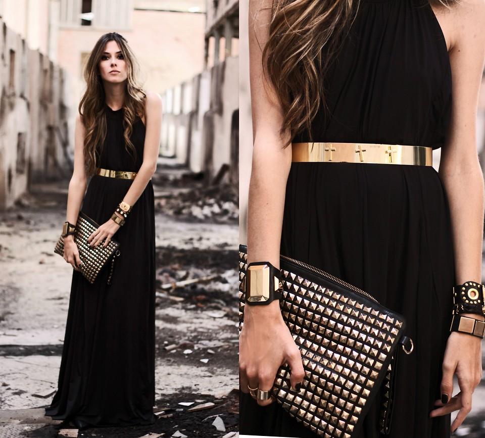 Секреты выбора правильных аксессуаров под чёрное платье