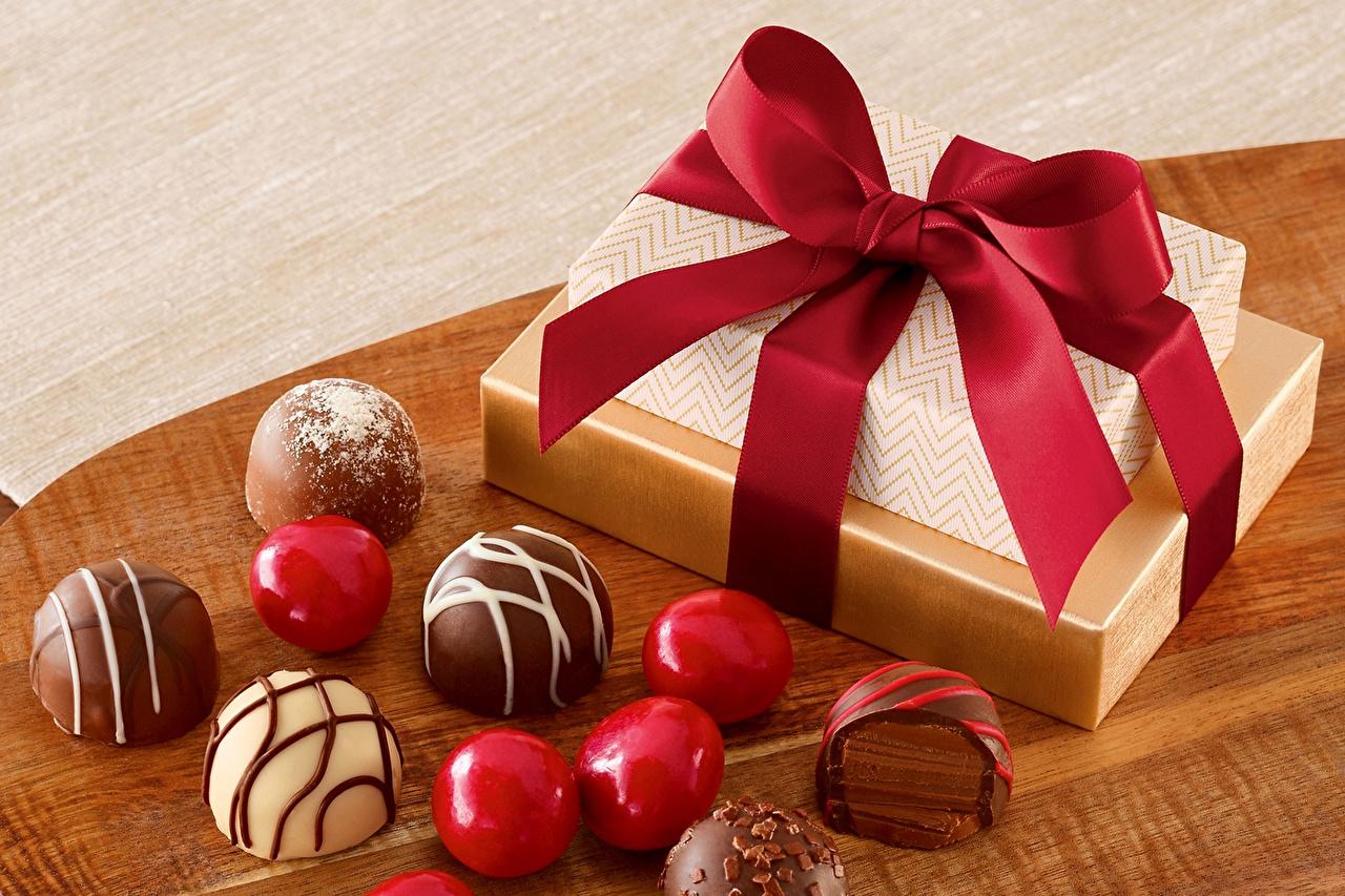 Подарки с шоколадом и конфетами