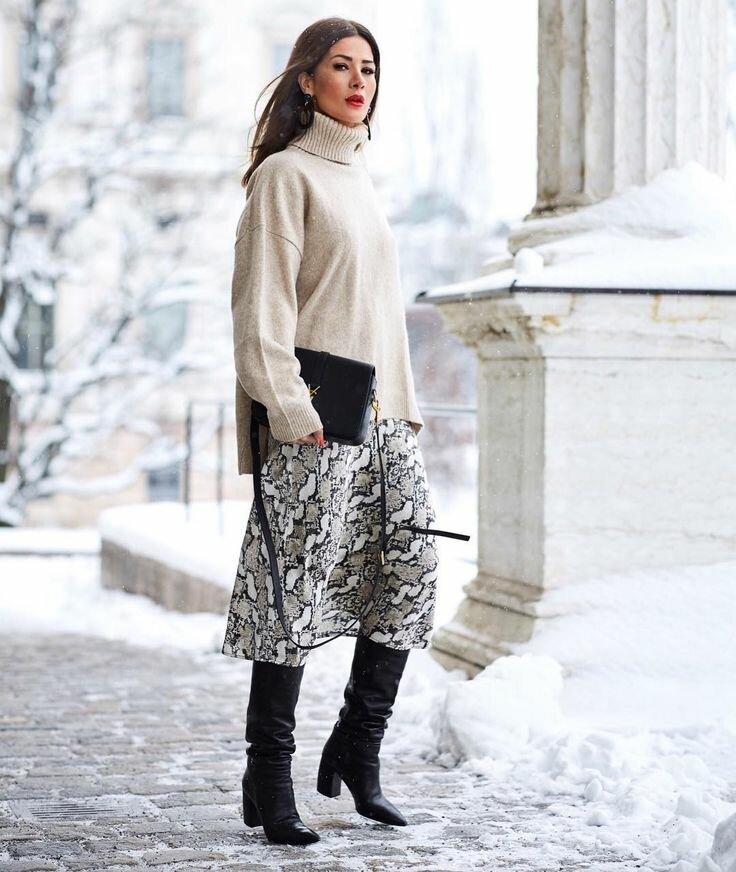 Почему этой зимой в гардеробе обязательно должна быть мини-юбка